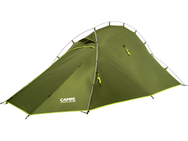 CAMPZ Vira 2P Tent, green/olive